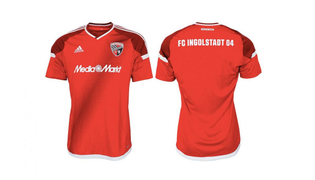 NEU FC Ingolstadt 04 Trikot Pin Badge Away 2016//17 Media Markt
