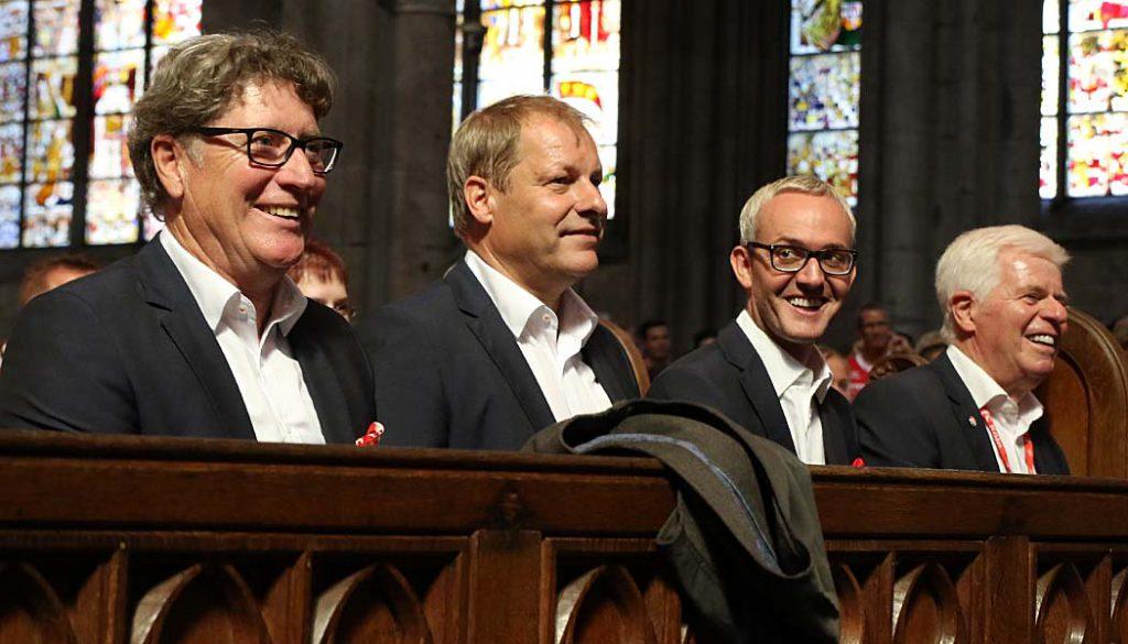 Der Effzeh-Gottesdienst im Kölner Dom. (Foto: GBK)