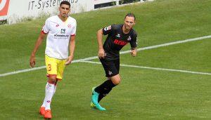 Marco Höger im Testspiel gegen den 1. FSV Mainz 05. (Foto: GBK)