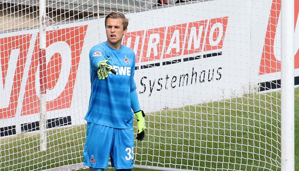 Sven Müller im Testspiel gegen den 1. FSV Mainz 05. (Foto: GBK)