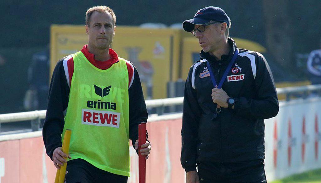 Matthias Lehmann und Peter Stöger im Gespräch. (Foto: GBK)