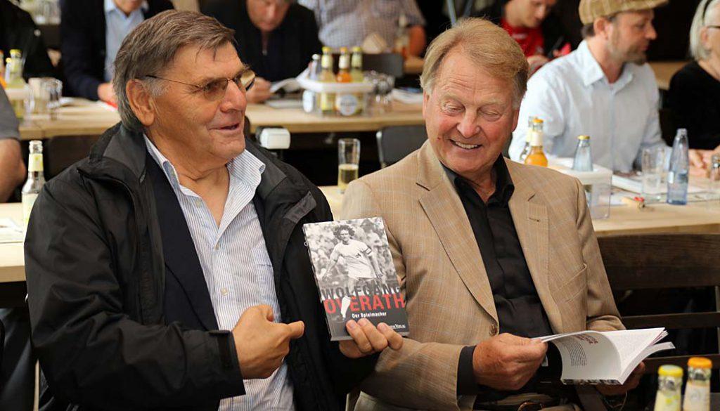 Wolfgang Weber und Karl-Heinz Thielen. (Foto: GBK)