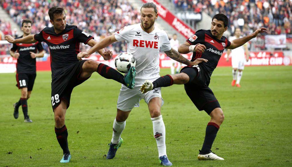 Marco Höger im Spiel gegen den FC Ingolstadt. (Foto: MV)