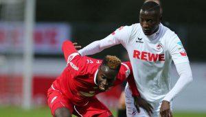 Sehrou Guirassy im Testspiel gegen den Bonner SC. (Foto: GBK)
