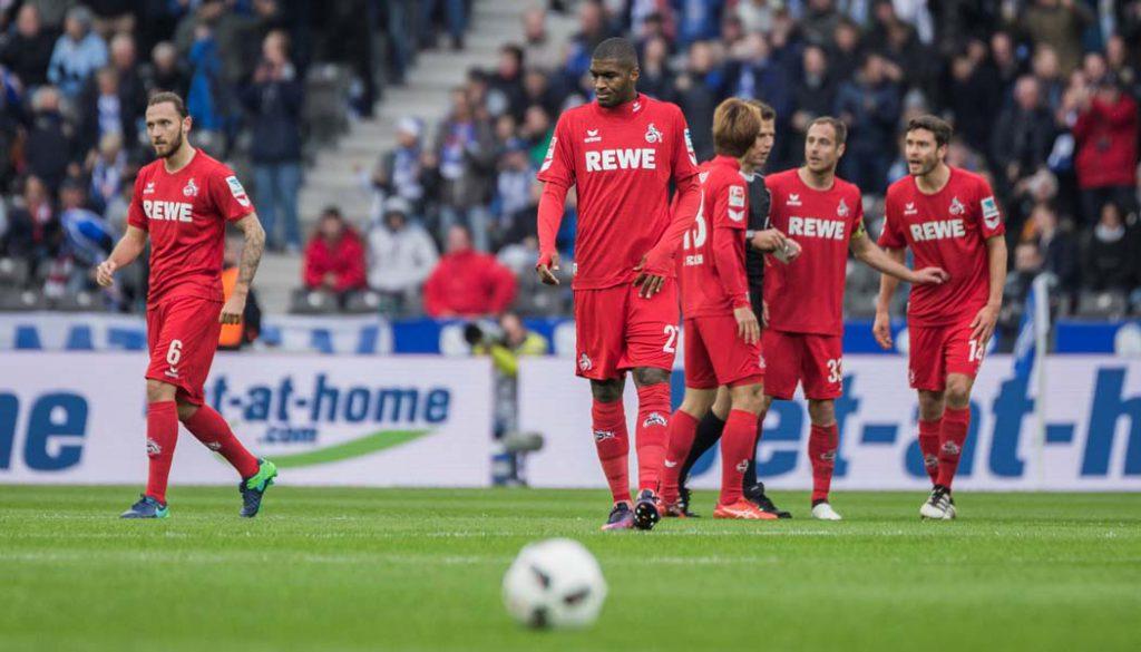 Der 1. FC Köln verliert bei Hertha BSC mit 1:2. (Foto: SW)