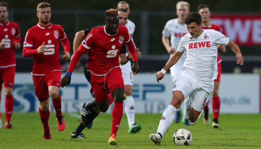 Milos Jojic im Testspiel gegen den Bonner SC. (Foto: GBK)