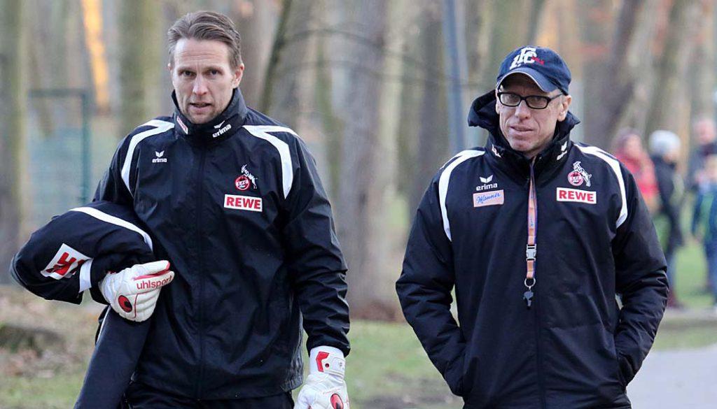 Alexander Bade und Peter Stöger. (Foto: GBK)