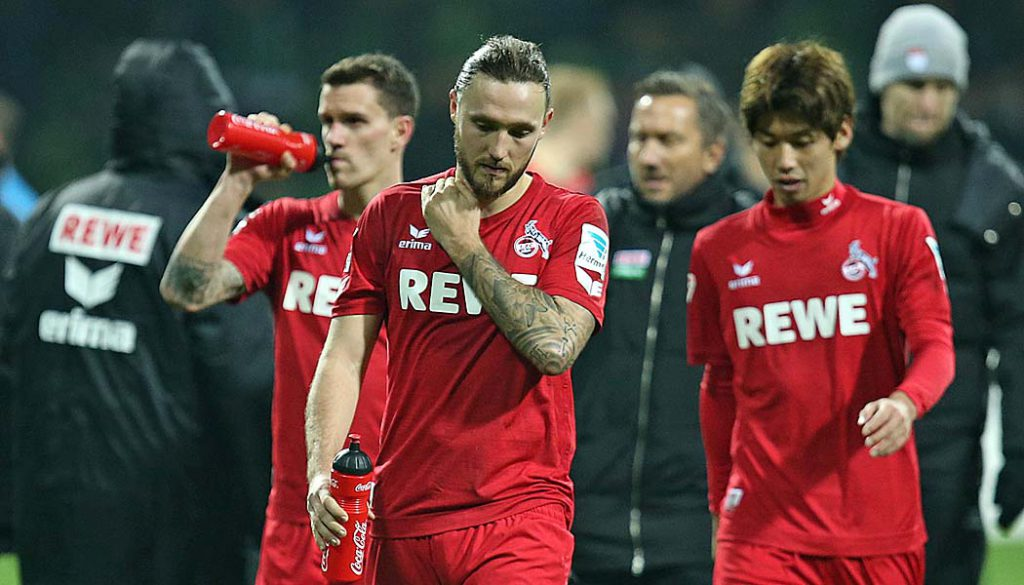 Marco Höger kassiert gegen Bremen seine 5. Gelbe Karte und fehlt damit im Derby gegen Leverkusen. (Foto: DeFodi / CM)