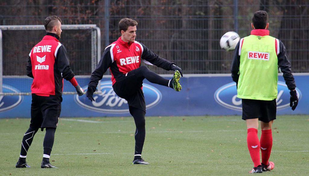Simon Zoller zurück im Mannschaftstraining. (Foto: GBK)