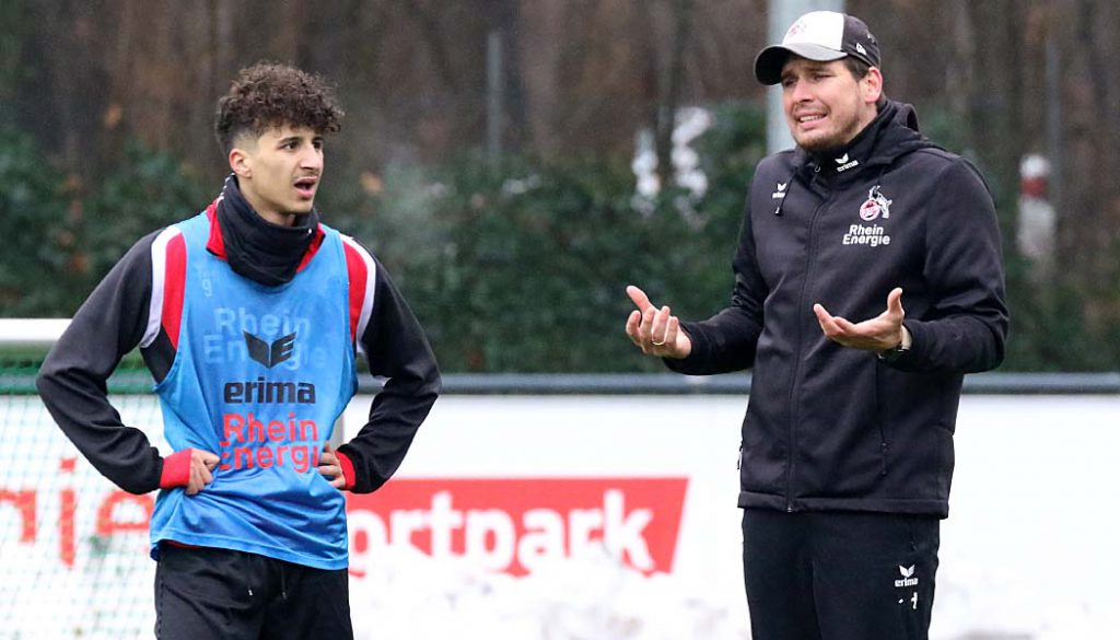Patrick Helmes und Anas Ouahim. (Foto: GBK)