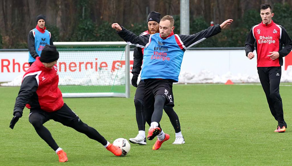 Trainingsauftakt der U21 im Neuen Jahr. (Foto: GBK)