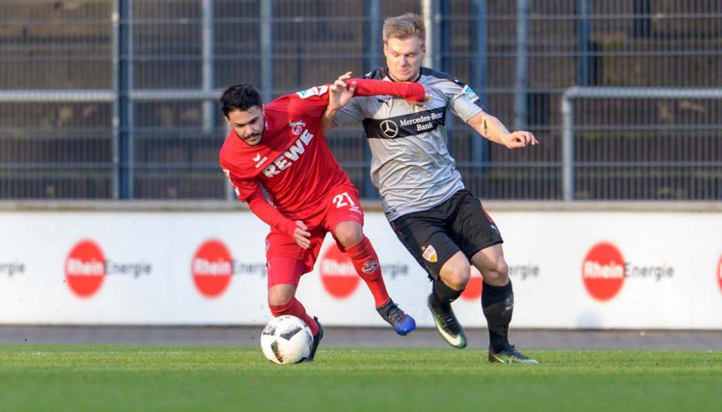 Leonardo Bittencourt feierte gegen den VfB Stuttgart sein Comeback. (Foto: JS)