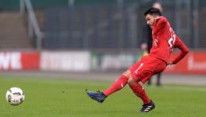 Leonardo Bittencourt bei seinem Comeback gegen Stuttgart. (Foto: JS)