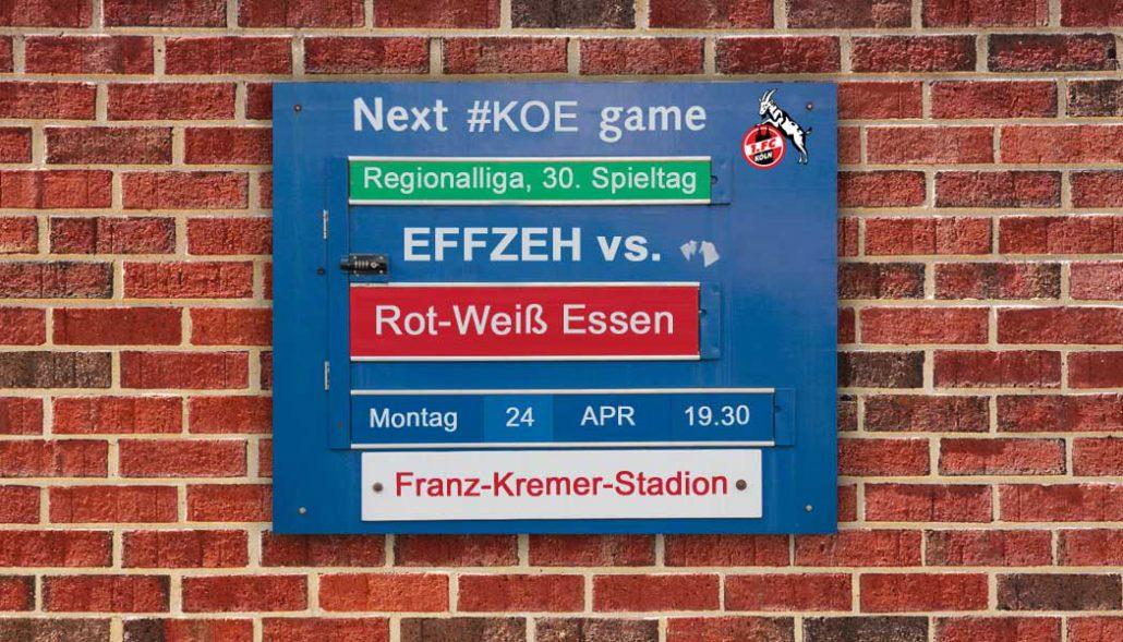 Liveticker Die Effzeh U21 Empfängt Rot Weiß Essen Geissblogkoeln