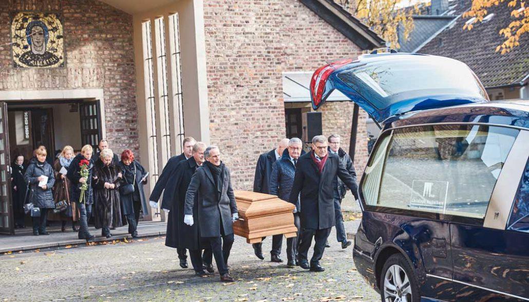 Beerdigung Köln