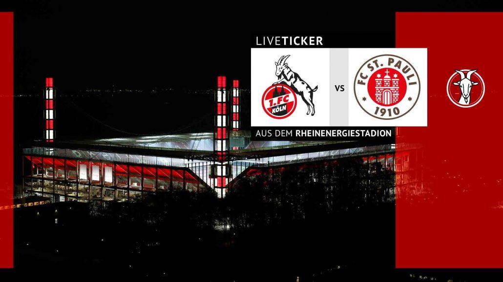 Liveticker Kann Köln Wieder An St Pauli Vorbeiziehen Geissblog