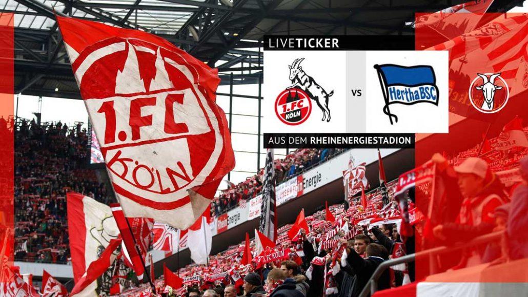 Liveticker Gelingt Dem Fc Gegen Hertha Der Erste Heimsieg Geissblog Koeln
